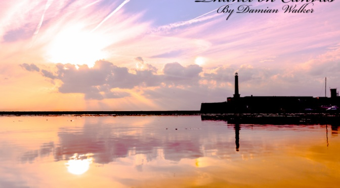 Sunset over the Lighthouse 18.06.2015