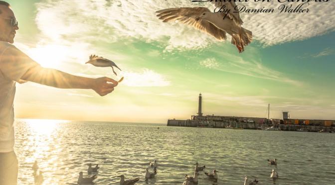 Seagulls, Stuart, Amelia and Margate Harbour 25.06.2015