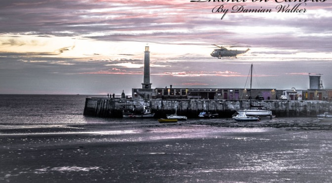 Low Flying Helicopter and Penny Lane's Lobster 24.06.2015