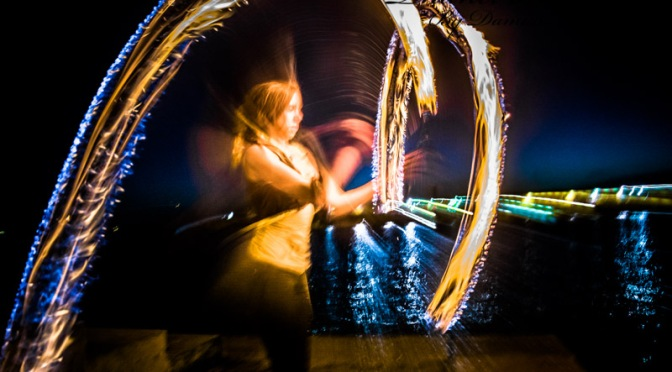 Fire Spinners in Margate 29.06.2015