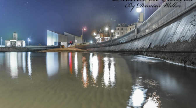 Harbour Lights Reflections 30.06.2015
