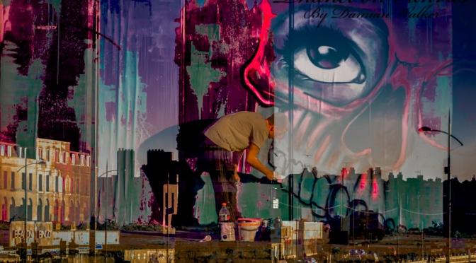 Guerrilla Pest Street Artist 23.08.2015